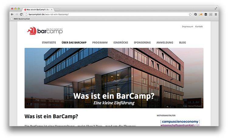 barcamp-website